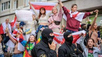 Протести, Мінськ