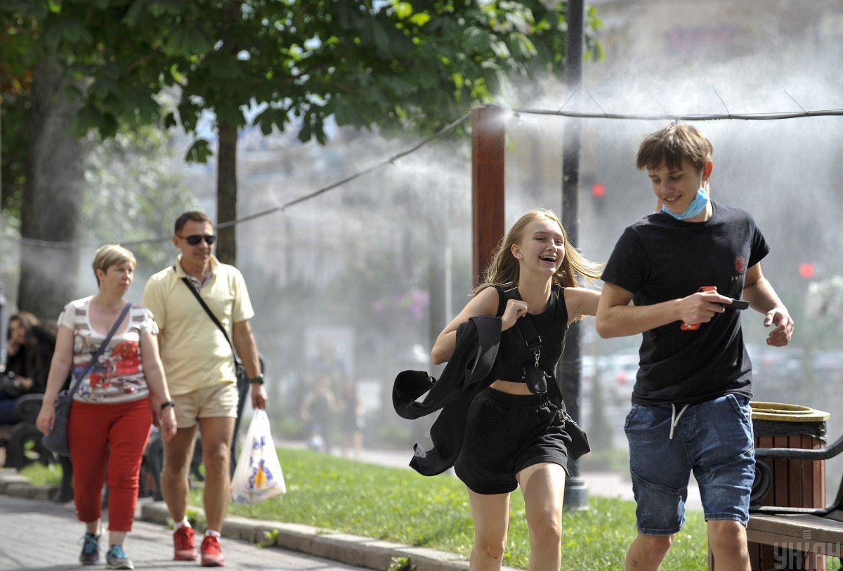 Киев,погода,жара