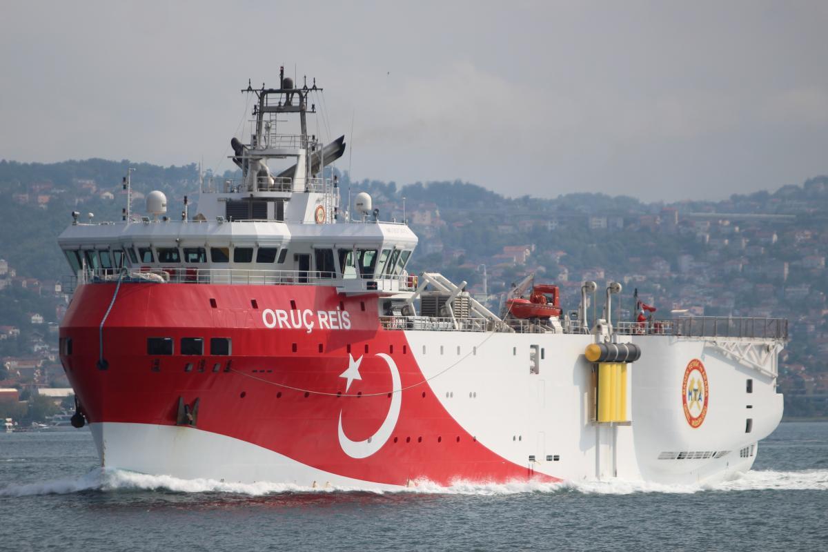 турецький корабель