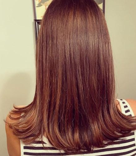 Стрижки на средние волосы осень 2020
