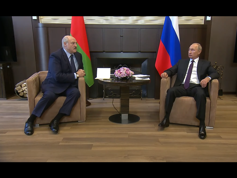 Лукашенко Путин
