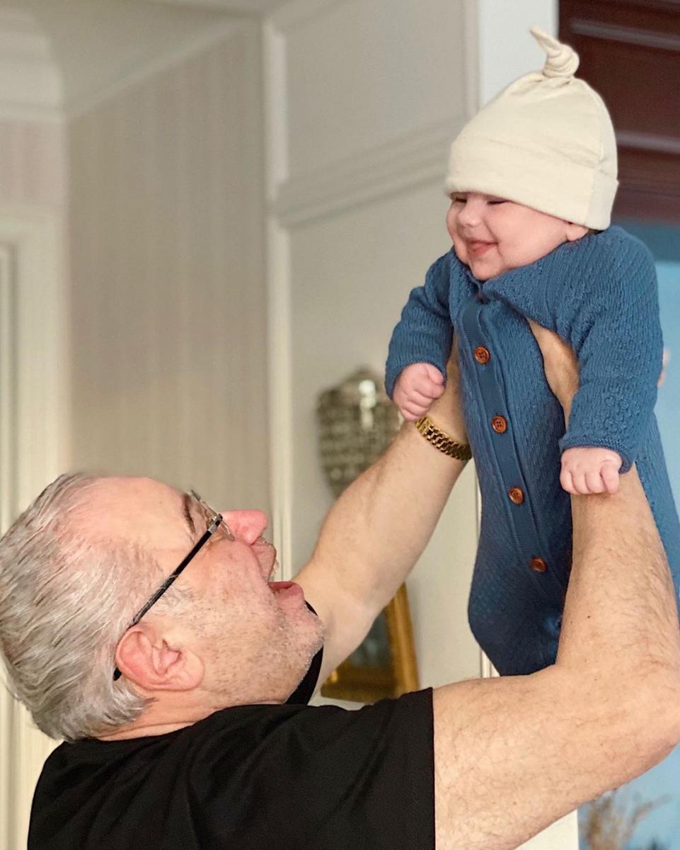 Євген Петросян і син