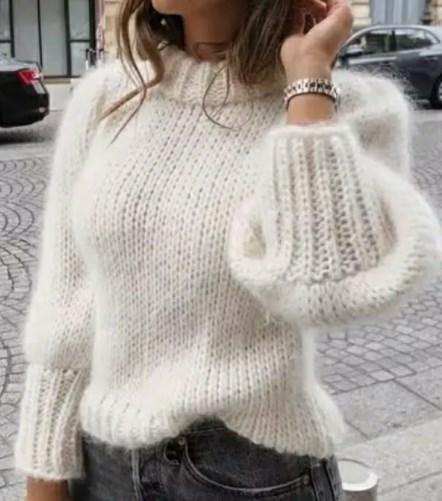 Білий одяг осінь-зима 2020-2021