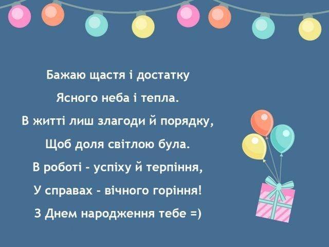 откритки з днем народження для друга привітання