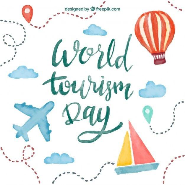 прикольні поздоровлення листівки з Всесвітнім днем туризму скачати безкоштовно - красиві картинки з Міжнародним днем туризму