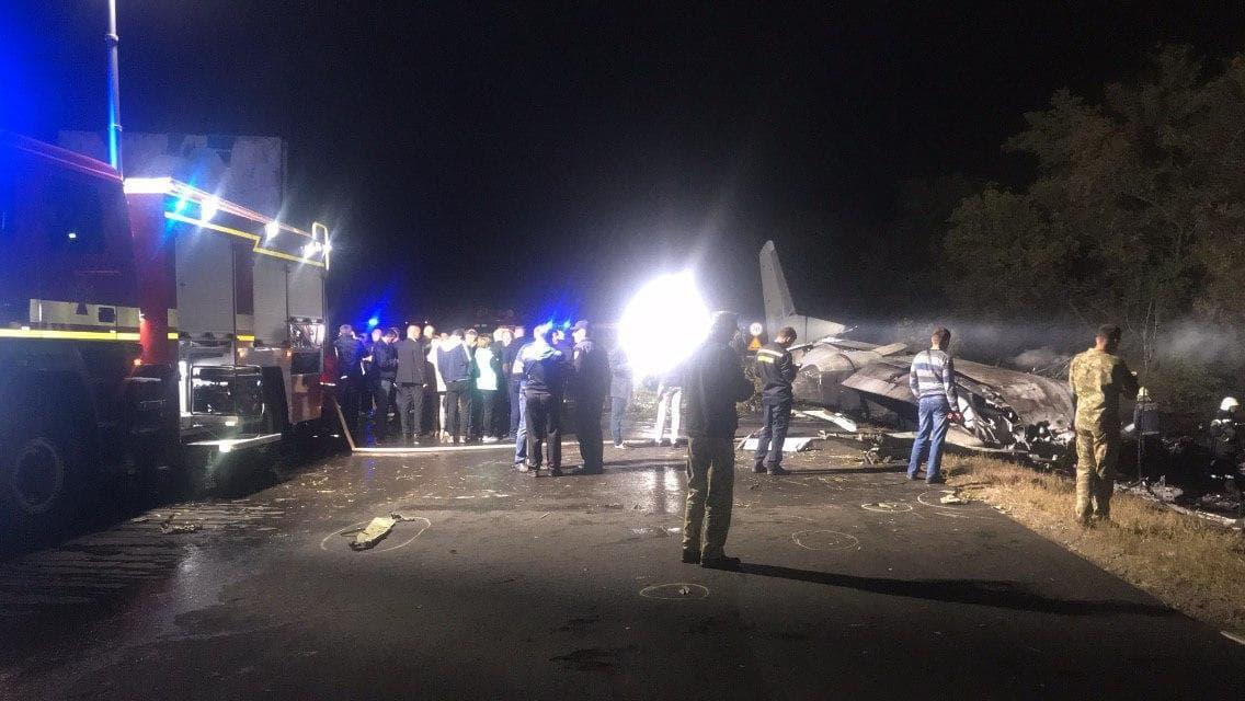 В результате крушения Ан-26 под Харьковом погибли более 20 человек