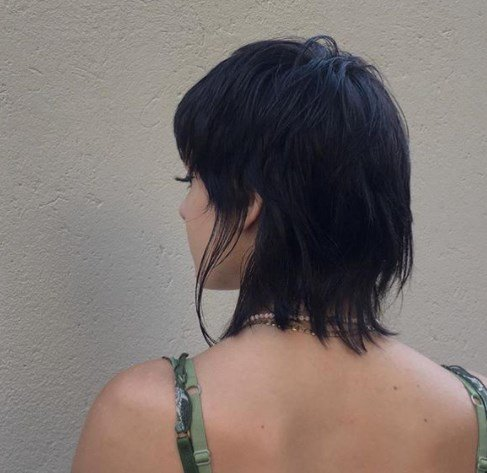 Жіноча стрижка маллет 2020