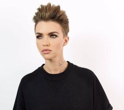 Женская стрижка томбой 2020