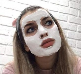 Альгінатну маску можна зробити удома / Instagram