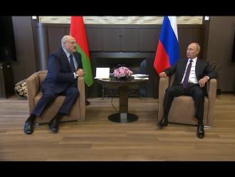 Лукашенко Путін