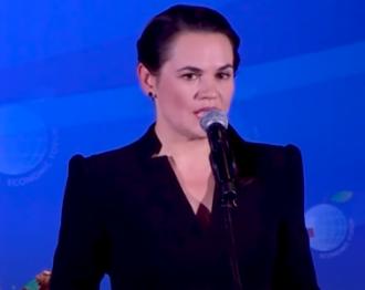 Тихановская полагает, что РФ дала деньги Лукашенко на агрессивные действия против белорусов – Тихановская Беларусь новости