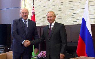 Лукашенко во время встречи с Путиным не будет просить денег, утверждают в Минфине Беларуси