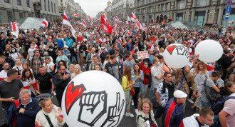 Протести, Білорусь