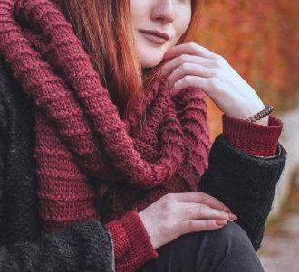 Модні шарфи осінь-зима 2020-2021