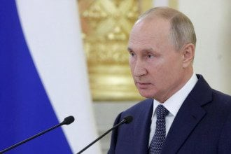 Путін не привітав Лукашенка з інавгурацією, оскільки для цього немає обов'язкового протоколу, повідомив Пєсков – Лукашенко Путін