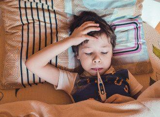 застуда, хвороба, грип, діти