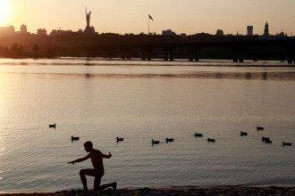 Діденко спрогнозувала, що в Києві скоро буде дощ