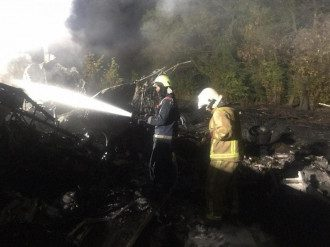 Авіакатастрофа під Харковом