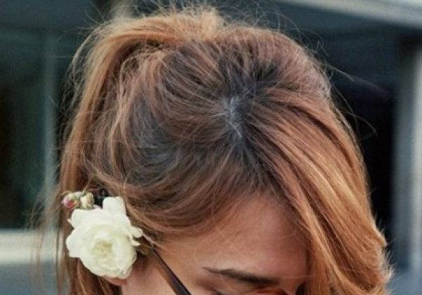 Довге волосся з чубчиком 2020