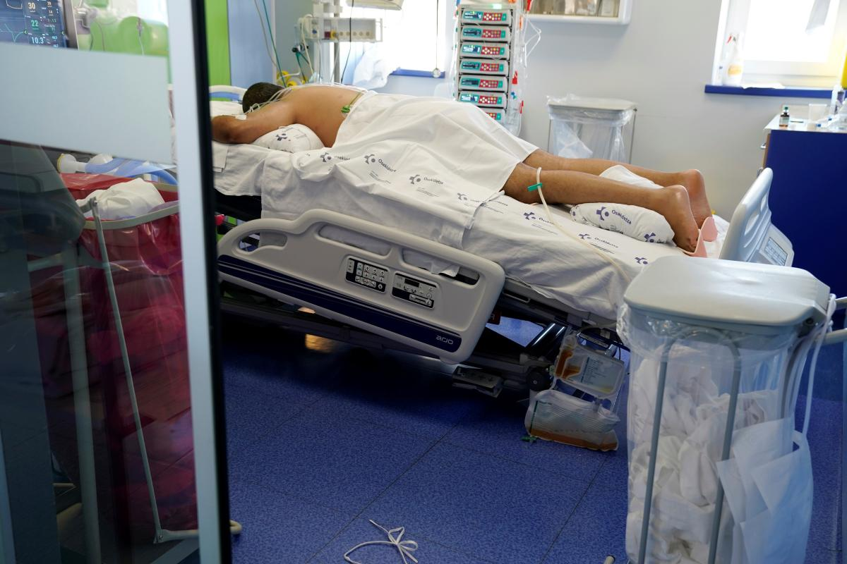 коронавирус, пациент, больница