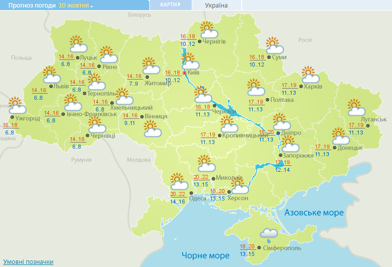 Синоптики спрогнозували, що Київ на вихідних перестане заливати