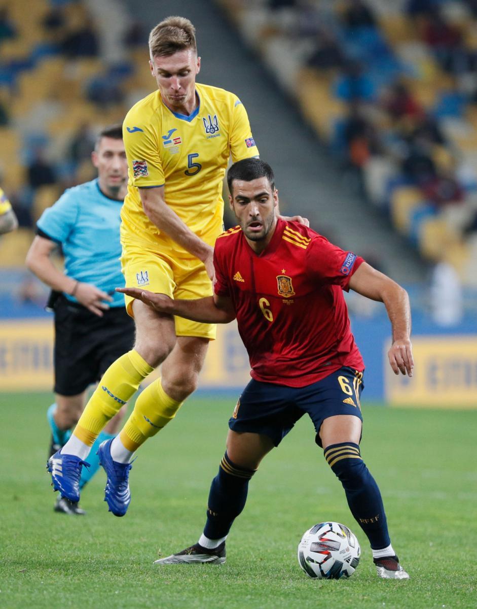 Украина - Испания Лига Наций