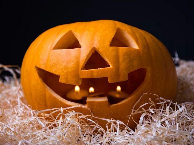 Гарбуз на Хелловін своїми руками - малюнок, як намалювати гарбуз