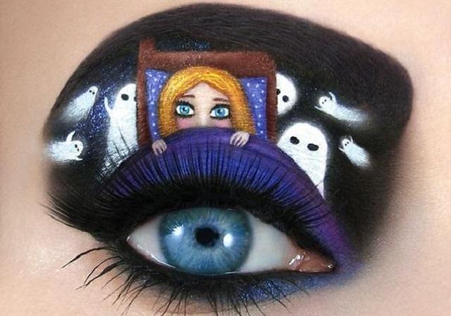 Макияж на Хэллоуин 2020 - как сделать красивый грим на Хеллоуин в карантин