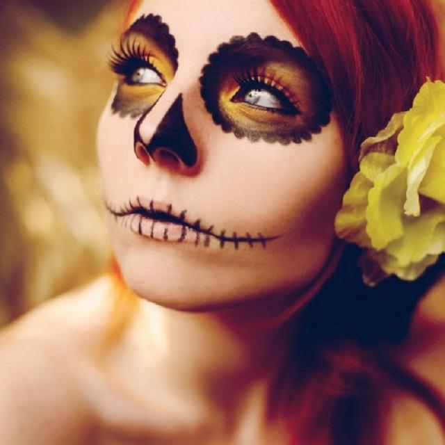 Макіяж на Хеллоуїн 2020 легкий - макіяж на Хеллоуїн