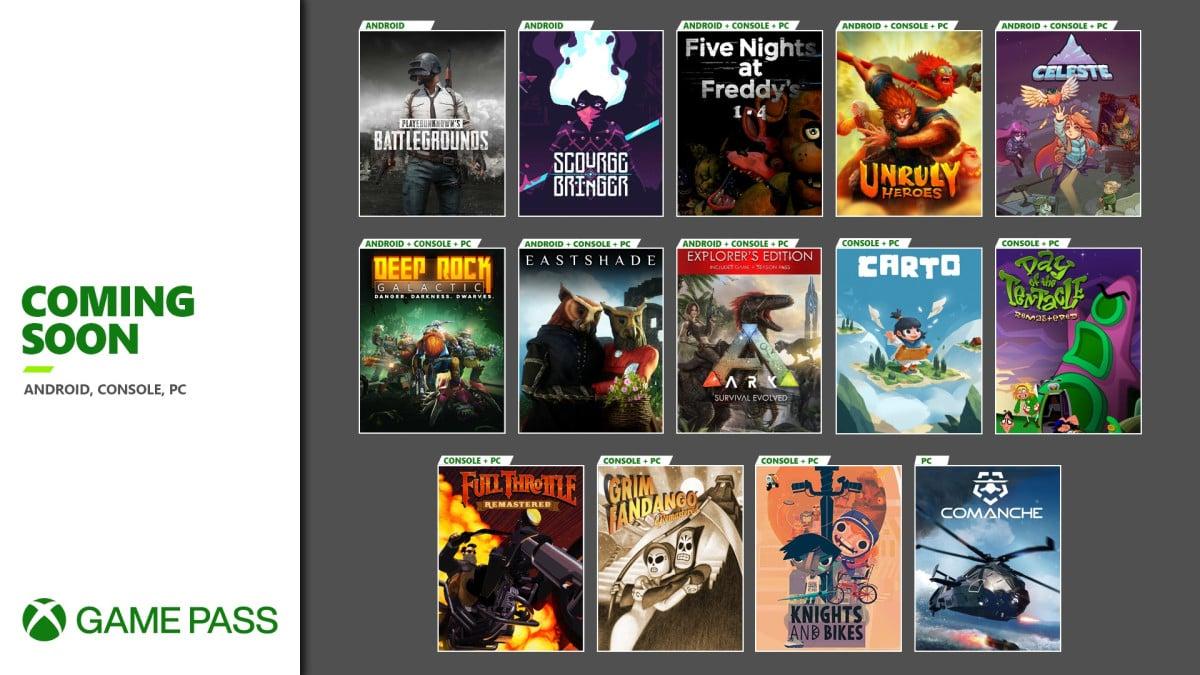 Анонсированы грядущие новинки Xbox Game Pass
