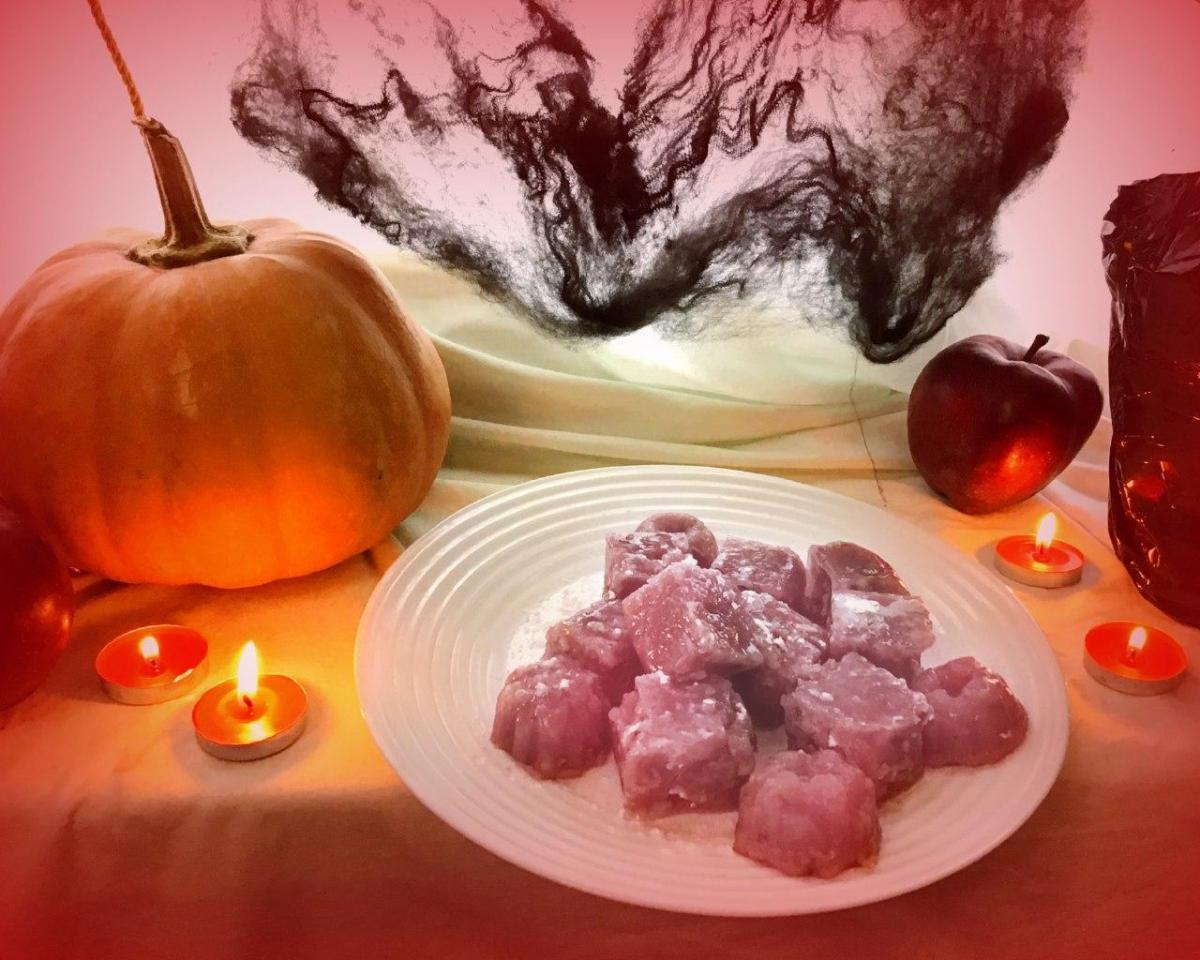 Дома на Хэллоуин можно сделать бюджетный лукум – Простой рахат лукум