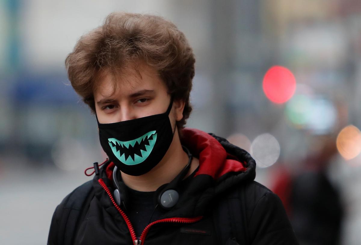 карантин,маска