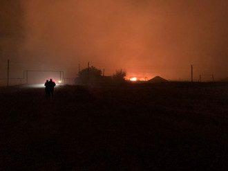 К тушению пожаров на Луганщине готовы привлечь авиацию