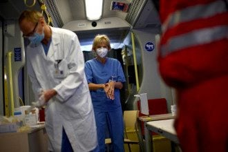 коронавирус, врачи