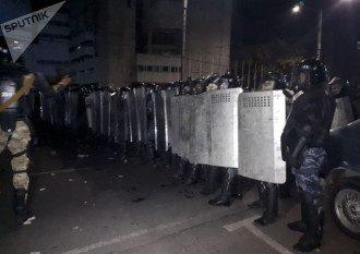 Протесты в Киргизии