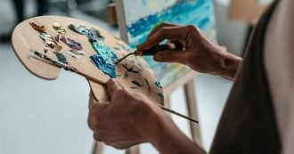 День художника - листівки, цікаві факти про художників і картини