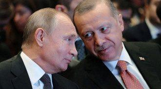 Путін, Ердоган