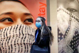 коронавирус, маска