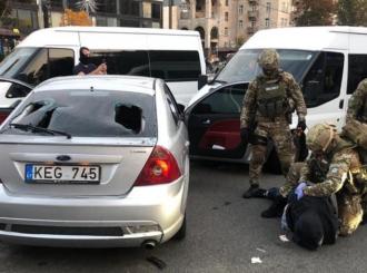 В столицы со стрельбой задержаны разбойники-иностранцы – Новости Киева сегодня