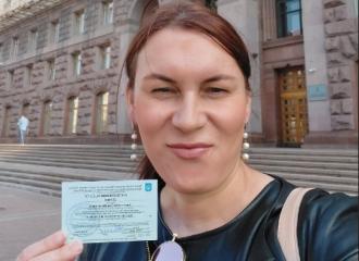 В депутаты Киевгорсовета баллотируется женщина-трансгендер / Фото: Facebook/Анастасия Ева Домани