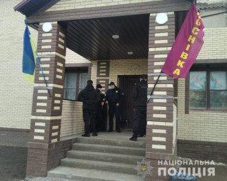Работу фейкового избирательного участка пресекли работники полиции / Фото npu.gov.ua