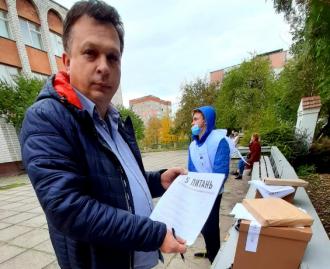 Поляку предложили проголосовать в Зе-опросе / Фото: Facebook/Tomasz Baart