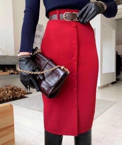 Удачная юбка-карандаш / Instagram