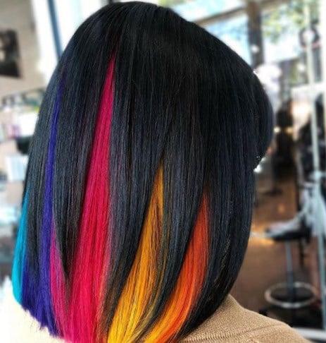 Приховане фарбування волосся 2020 / Instagram