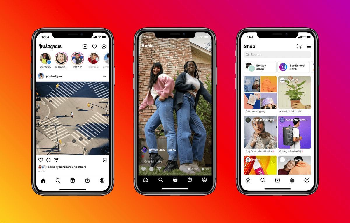 В Instagram большие изменения – куча новых вкладок и возможностей