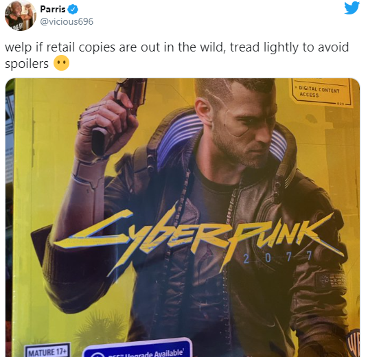 Будьте осторожны: в Сети появились спойлеры к Cyberpunk 2077