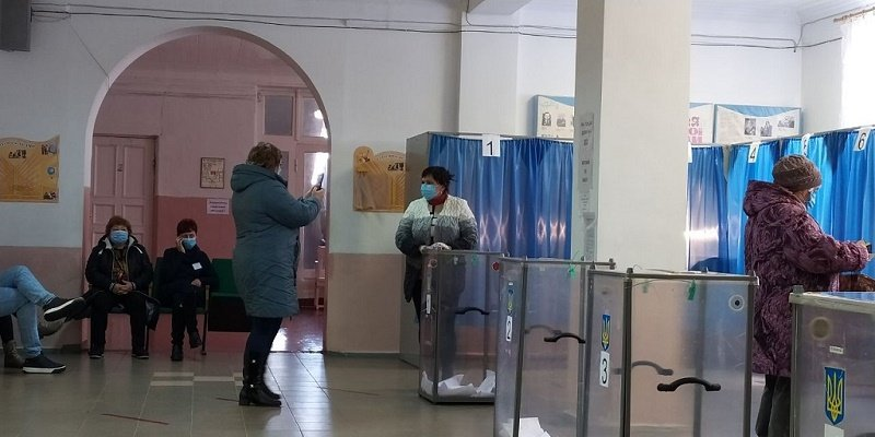 Выборы в Славянске