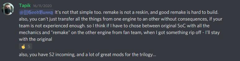 Создатели Сталкера 2 обсудили возможность выпуска ремейков оригинальных игр серии