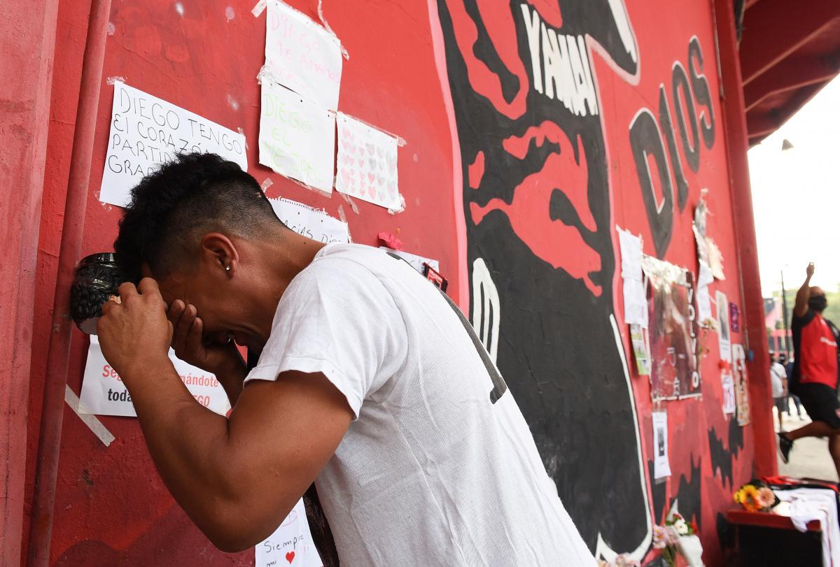 Смерть Марадоны
