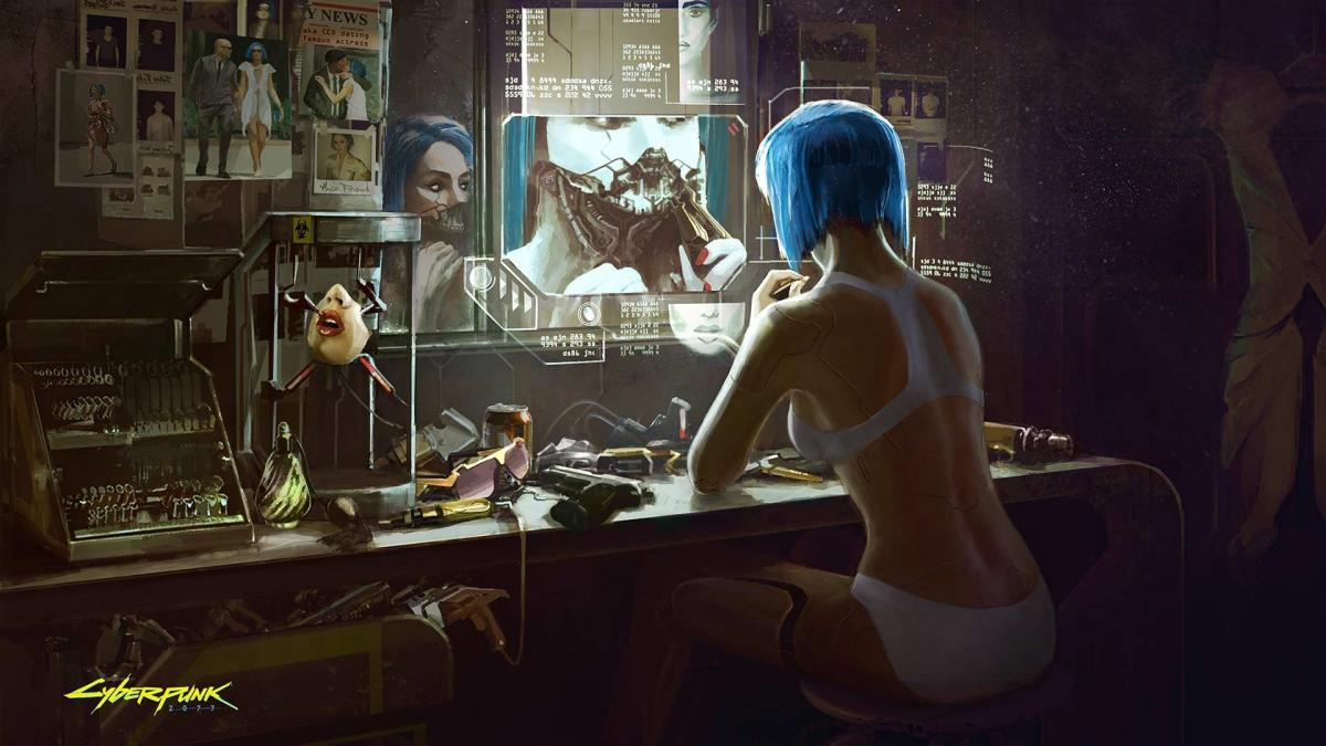 Арт из игры Cyberpunk 2077 / CD Projekt RED